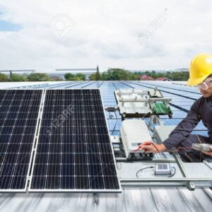 85978383-engineer-maintenance-solar-panel-equipment-on-factory-roof