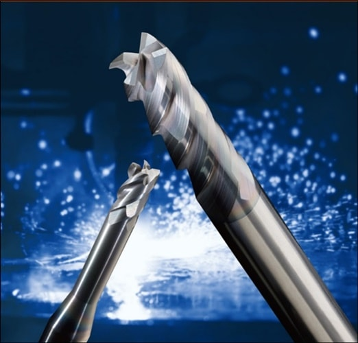 """4-Flute High Efficient """"Z"""" End Mill for Stainless Steels"""