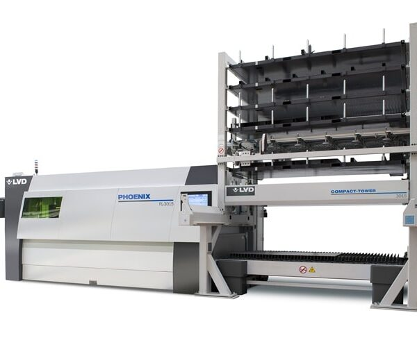 Fiber Laser Phoenix 3015 with Compact Tower Automation (CT-L)