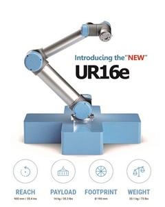 สุดยอด หุ่นยนต์สารพัดประโยชน์ ใหม่! โคบอทจากยูนิเวอร์ซัล โรบอท UR16