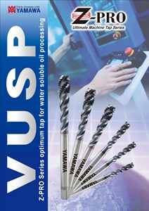 VUSP and VUPO Taps for Machining Center
