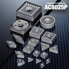 AC8025P SERIES – COATING GRADES FOR STEEL TURNING