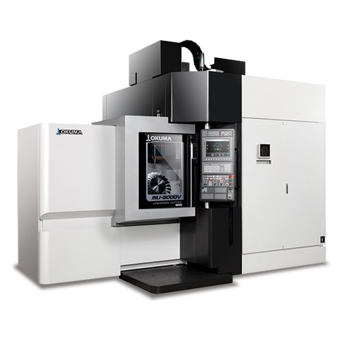 UNIVERSAL CENTER MU-5000V 5-AXIS VERTICAL MACHINING CENTERS