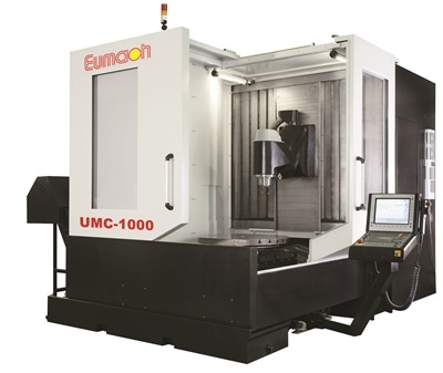 5 Axis Simultaneous Milling Center by Eumach
