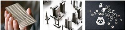 เครื่องจักรไวร์คัท Wire Cut AgieCharmilles รุ่น CUT 2000 S  sample part